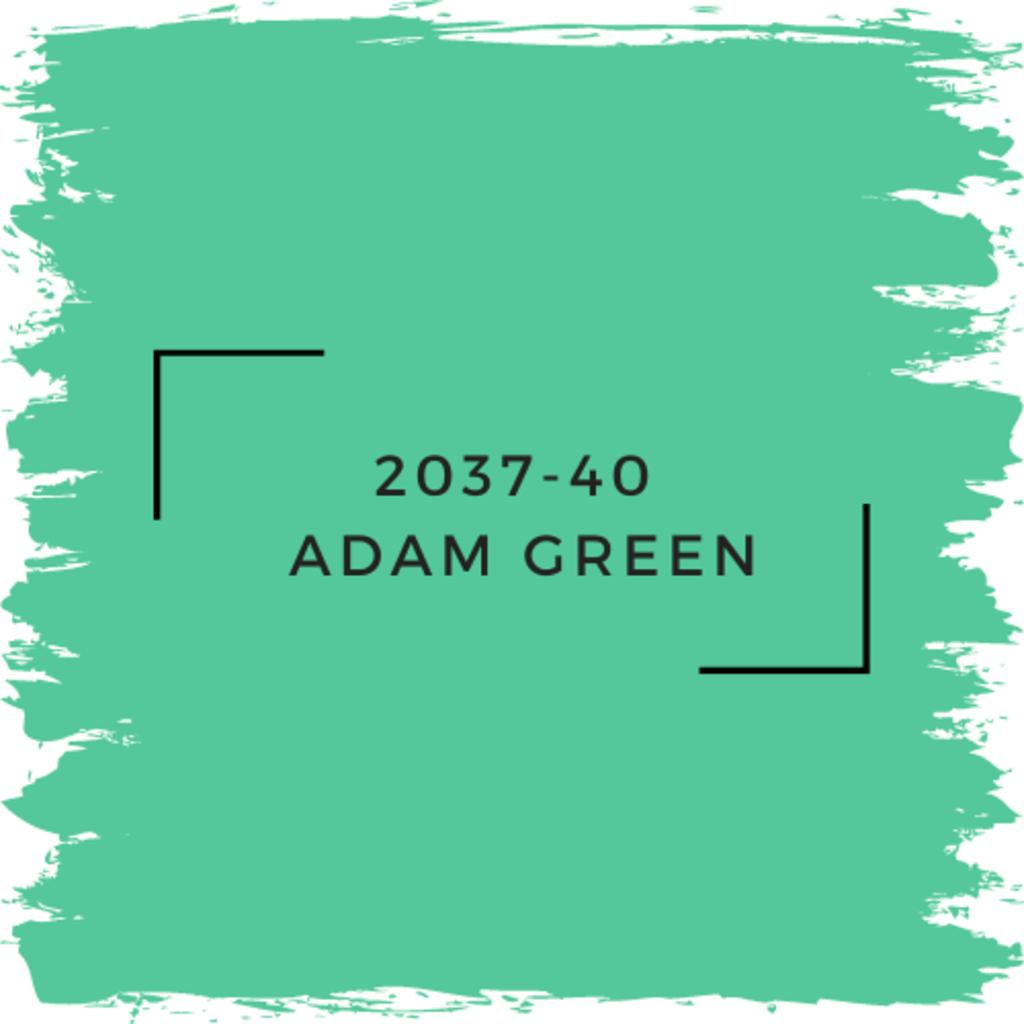 Benjamin Moore 2037-40  Adam Green