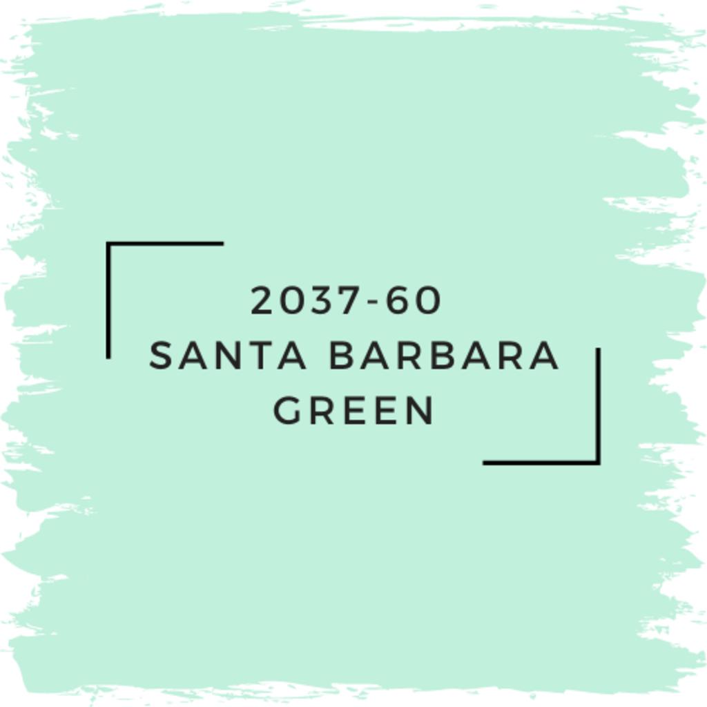 Benjamin Moore 2037-60  Santa Barbara Green