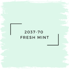 Benjamin Moore 2037-70  Fresh Mint