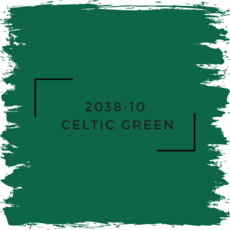 Benjamin Moore 2038-10  Celtic Green
