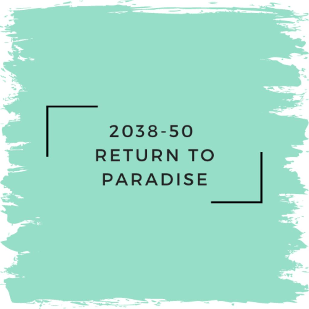 Benjamin Moore 2038-50  Return To Paradise