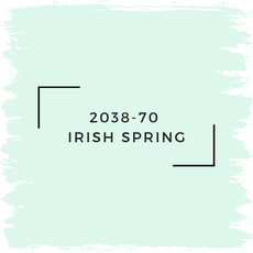 Benjamin Moore 2038-70  Irish Spring