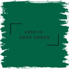Benjamin Moore 2039-10  Deep Green