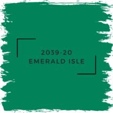 Benjamin Moore 2039-20 Emerald Isle