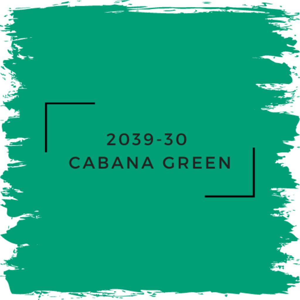Benjamin Moore 2039-30  Cabana Green