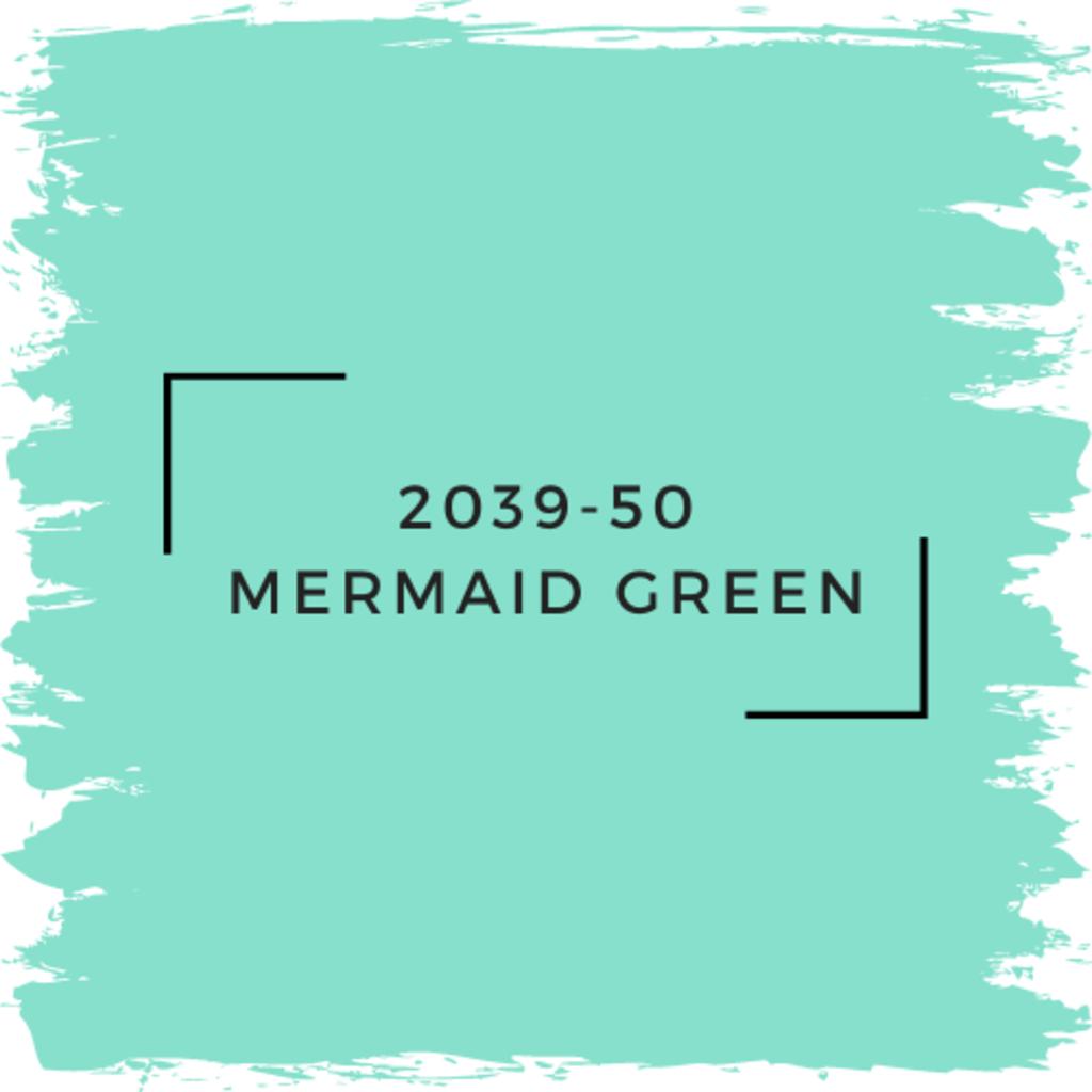 Benjamin Moore 2039-50 Mermaid Green