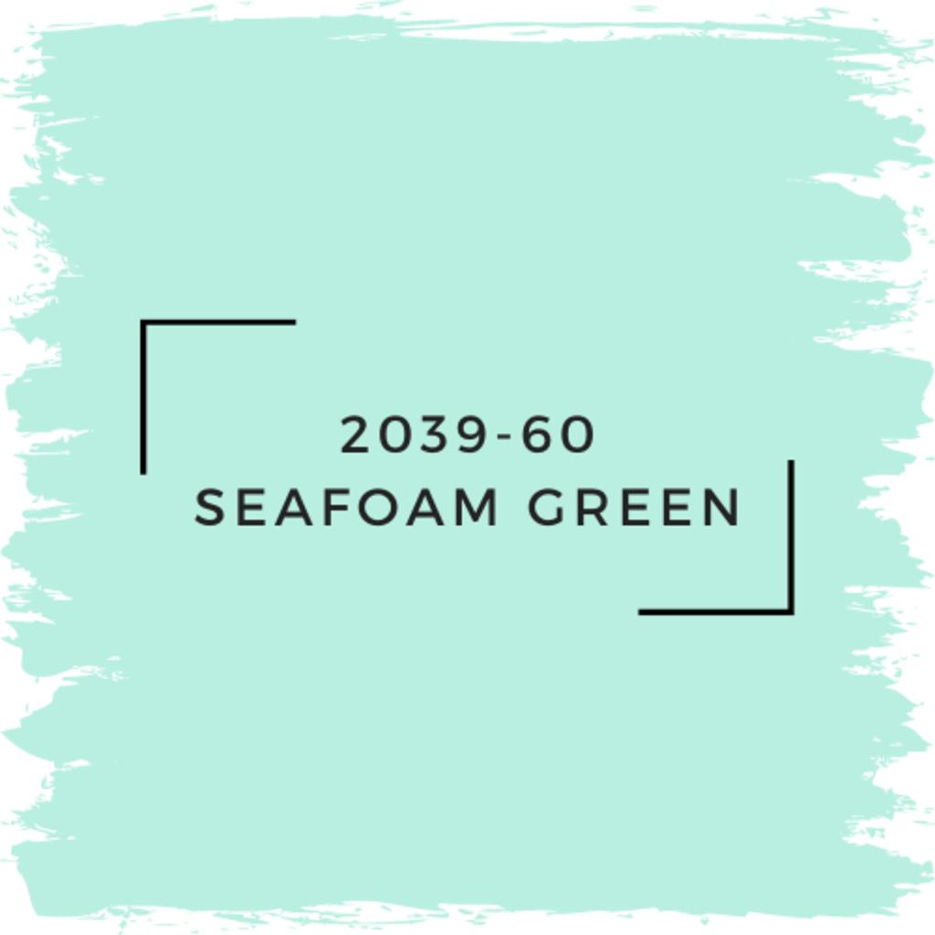 Benjamin Moore 2039-60 Seafoam Green