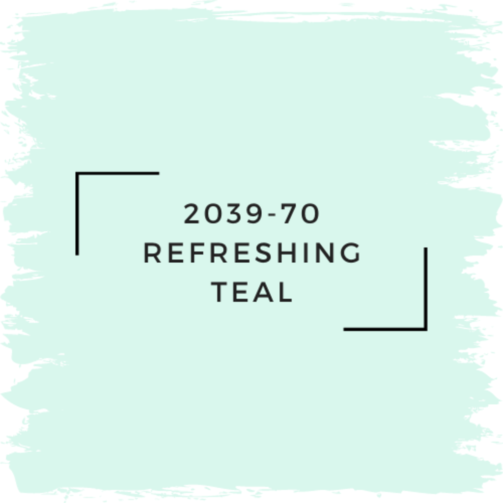 Benjamin Moore 2039-70 Refreshing Teal