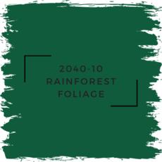 Benjamin Moore 2040-10 Rainforest Foliage