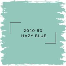 Benjamin Moore 2040-50  Hazy Blue