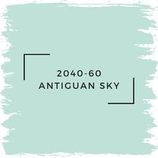 Benjamin Moore 2040-60 Antiguan Sky