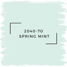 Benjamin Moore 2040-70  Spring Mint