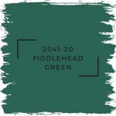 Benjamin Moore 2041-20 Fiddlehead Green