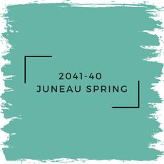 Benjamin Moore 2041-40  Juneau Spring