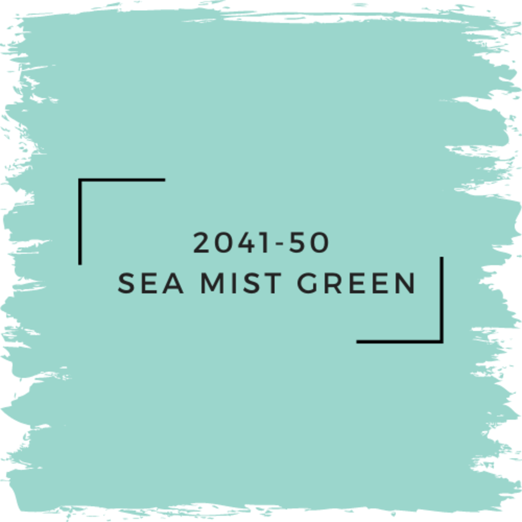 Benjamin Moore 2041-50  Sea Mist Green