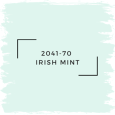 Benjamin Moore 2041-70  Irish Mint
