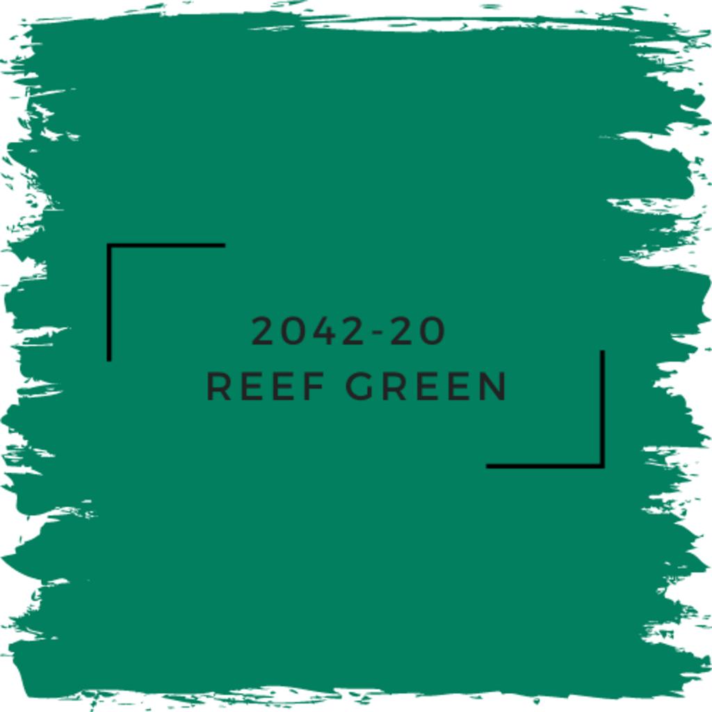 Benjamin Moore 2042-20  Reef Green