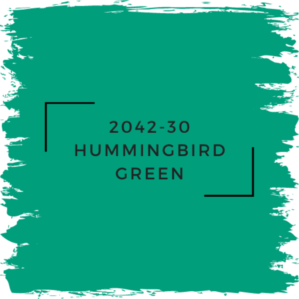 Benjamin Moore 2042-30 Hummingbird Green