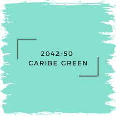 Benjamin Moore 2042-50  Caribe Green