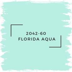 Benjamin Moore 2042-60  Florida Aqua