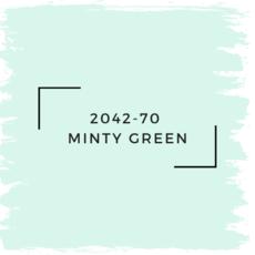 Benjamin Moore 2042-70  Minty Green