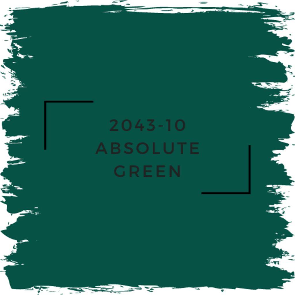 Benjamin Moore 2043-10 Absolute Green