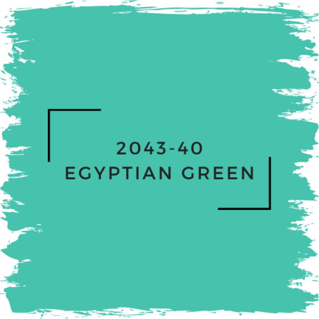 Benjamin Moore 2043-40 Egyptian Green