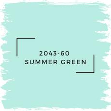 Benjamin Moore 2043-60  Summer Green