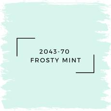 Benjamin Moore 2043-70  Frosty Mint