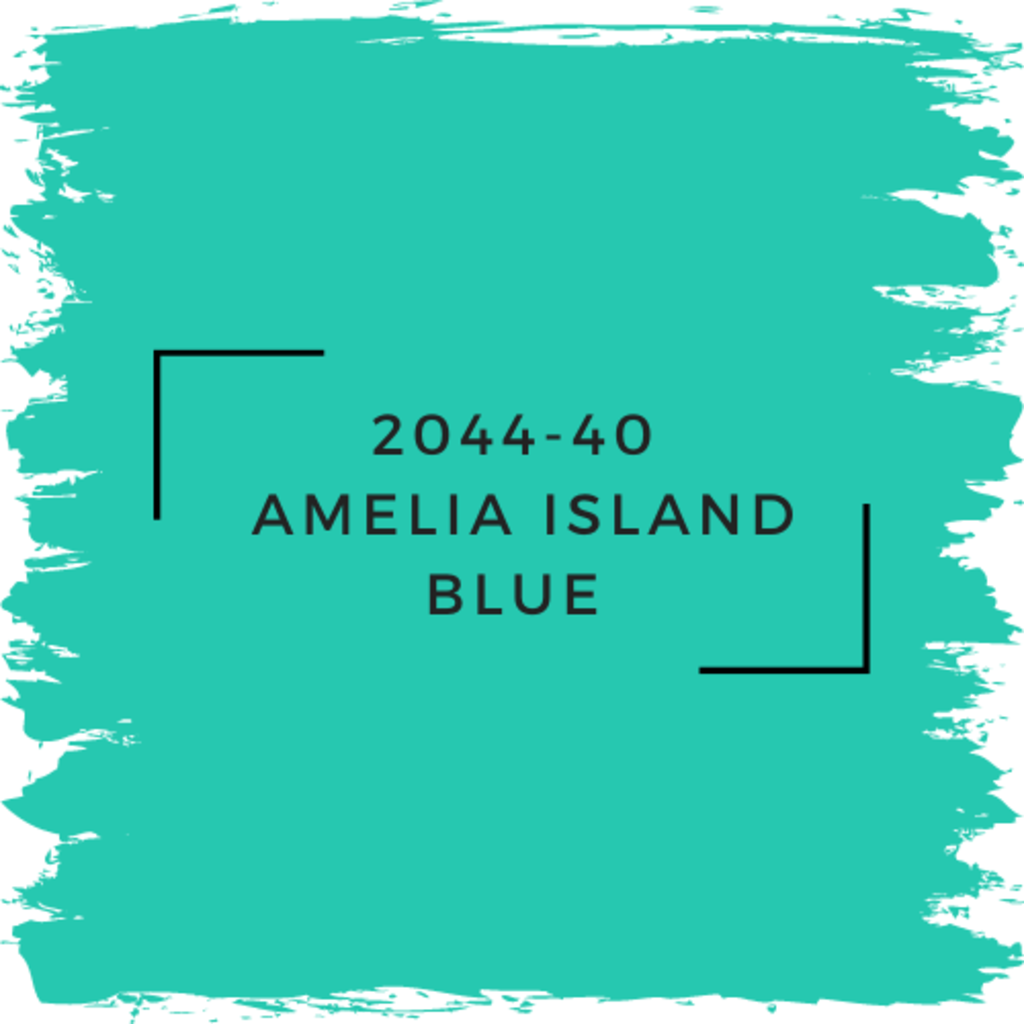 Benjamin Moore 2044-40  Amelia Island Blue
