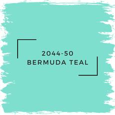 Benjamin Moore 2044-50 Bermuda Teal