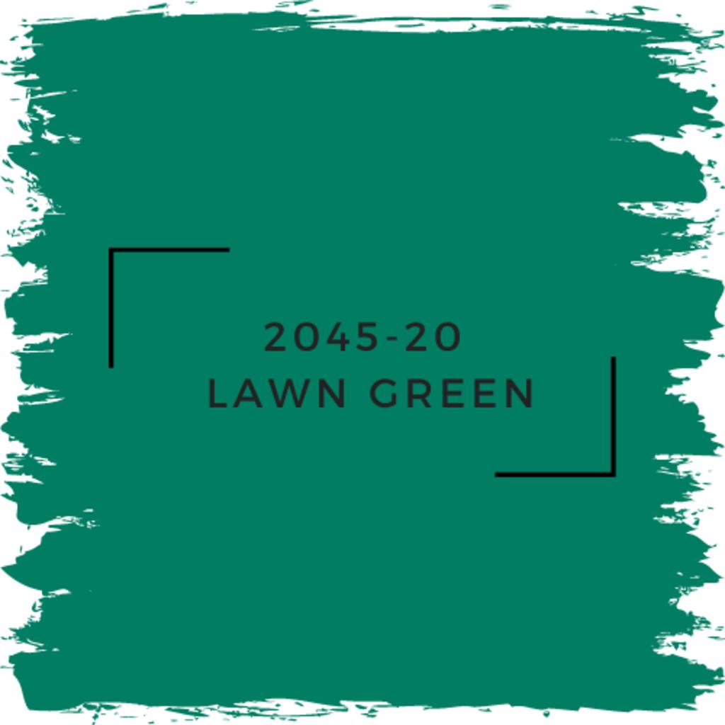 Benjamin Moore 2045-20  Lawn Green