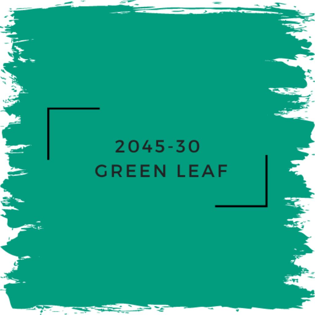 Benjamin Moore 2045-30  Green Leaf