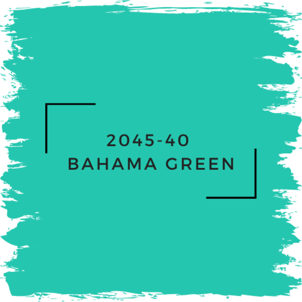 Benjamin Moore 2045-40  Bahama Green