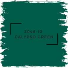 Benjamin Moore 2046-10  Calypso Green