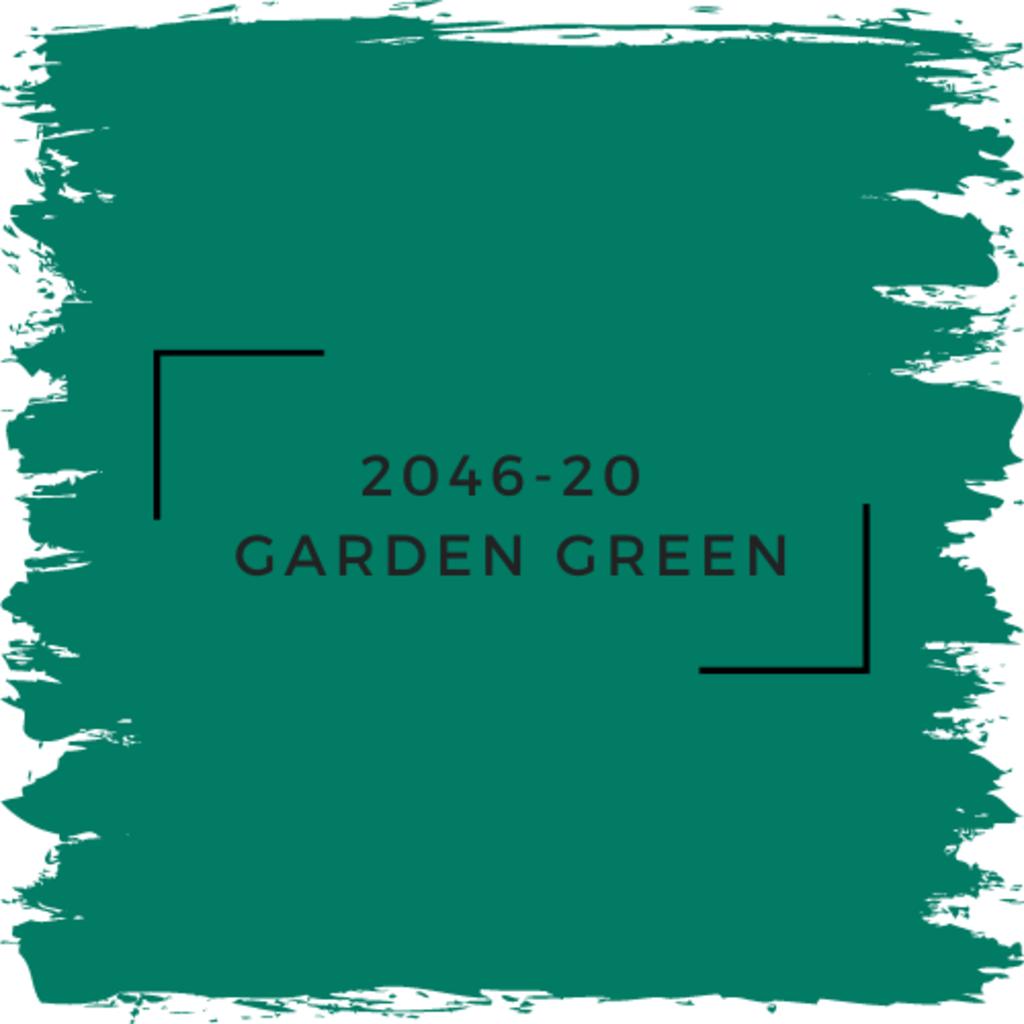 Benjamin Moore 2046-20  Garden Green