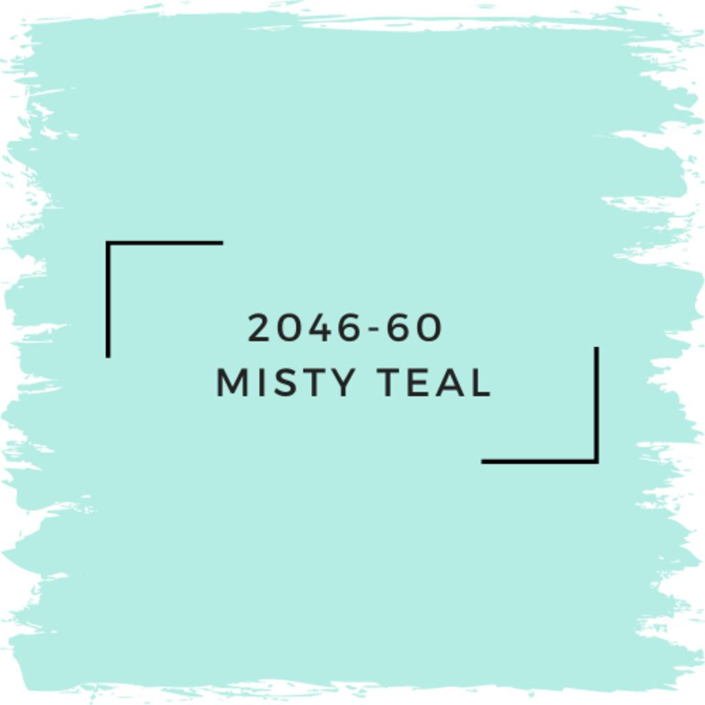 Benjamin Moore 2046-60  Misty Teal