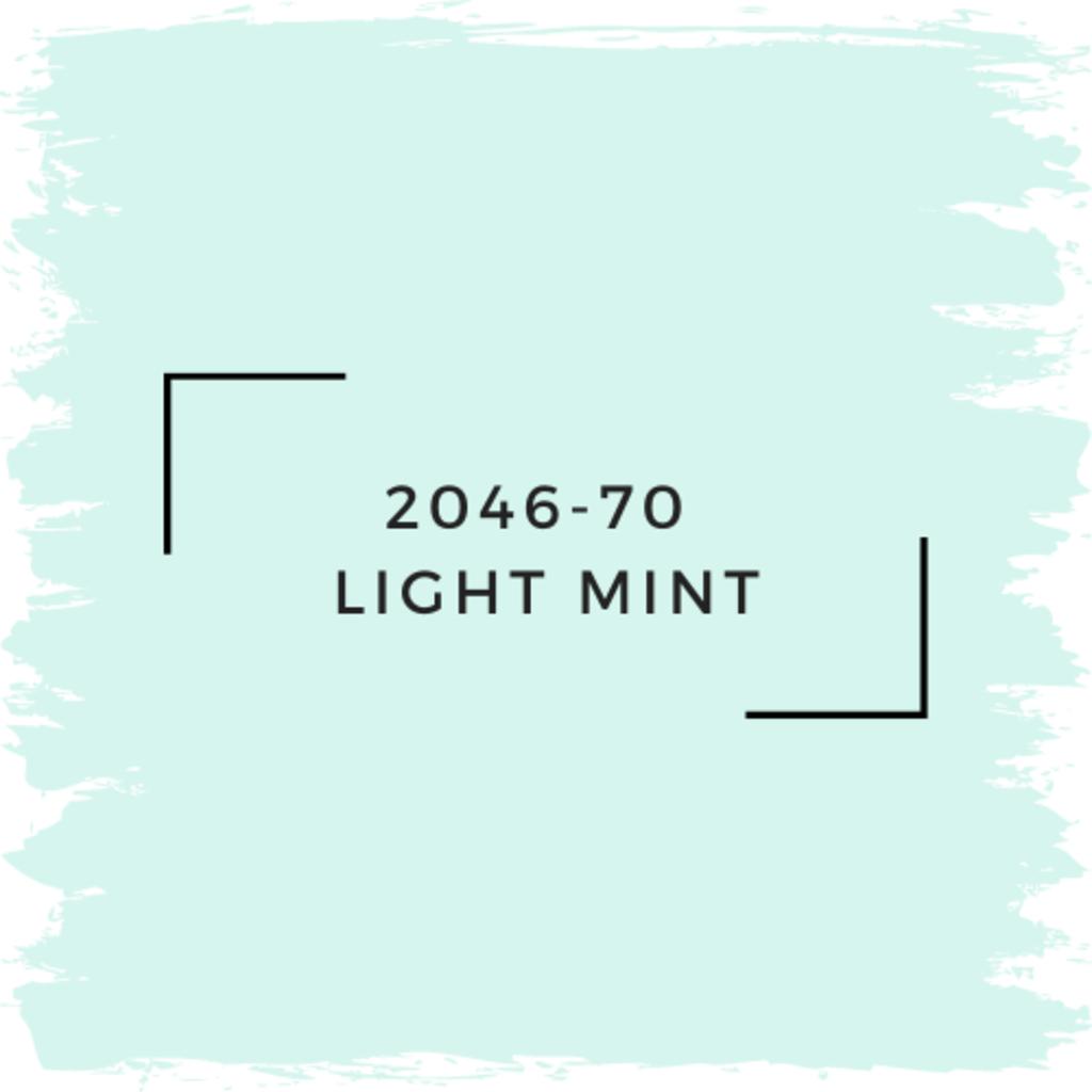 Benjamin Moore 2046-70  Light Mint