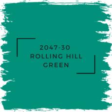 Benjamin Moore 2047-30  Rolling Hill Green
