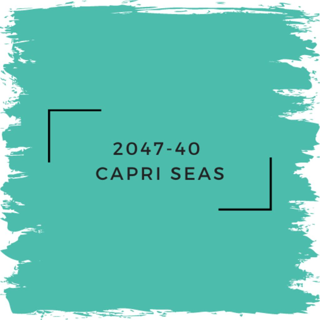 Benjamin Moore 2047-40  Capri Seas