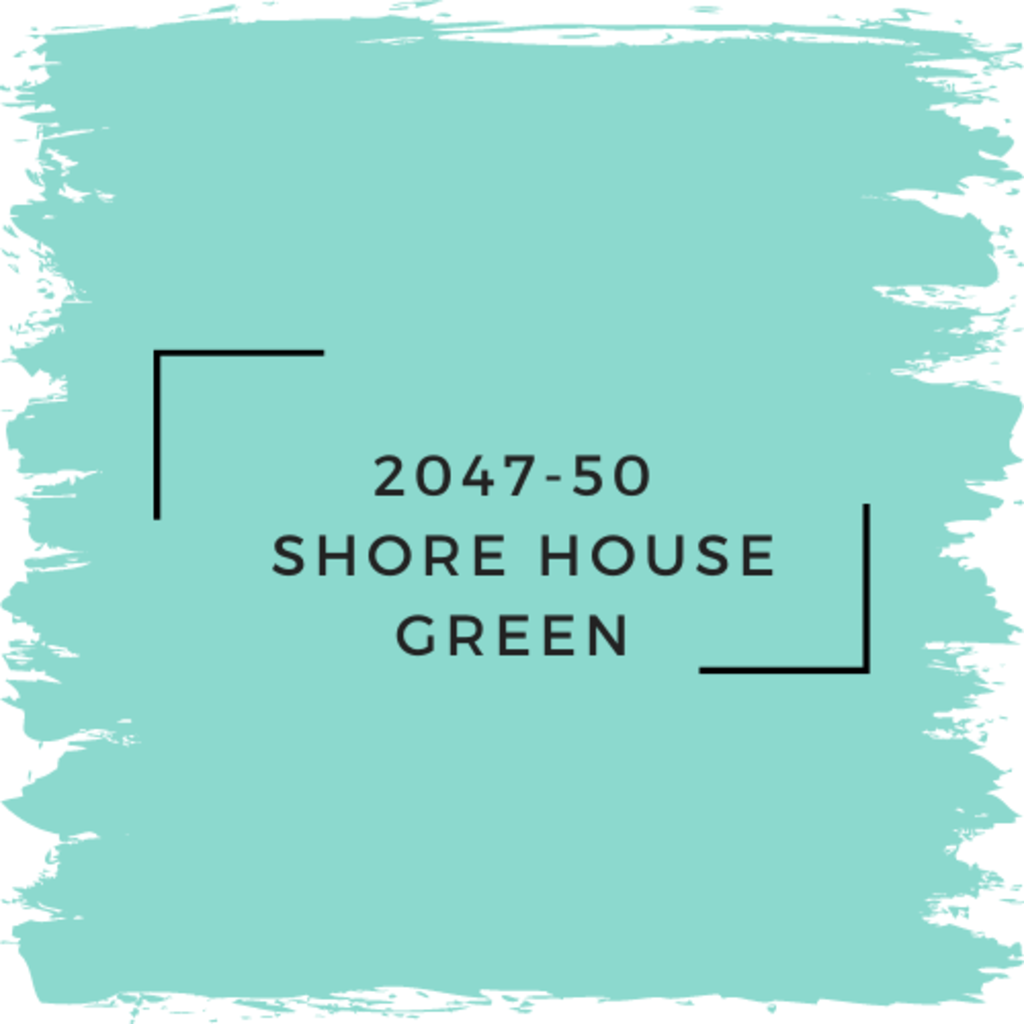 Benjamin Moore 2047-50  Shore House Green