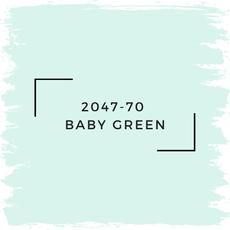 Benjamin Moore 2047-70  Baby Green