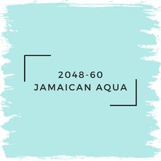 Benjamin Moore 2048-60 Jamaican Aqua