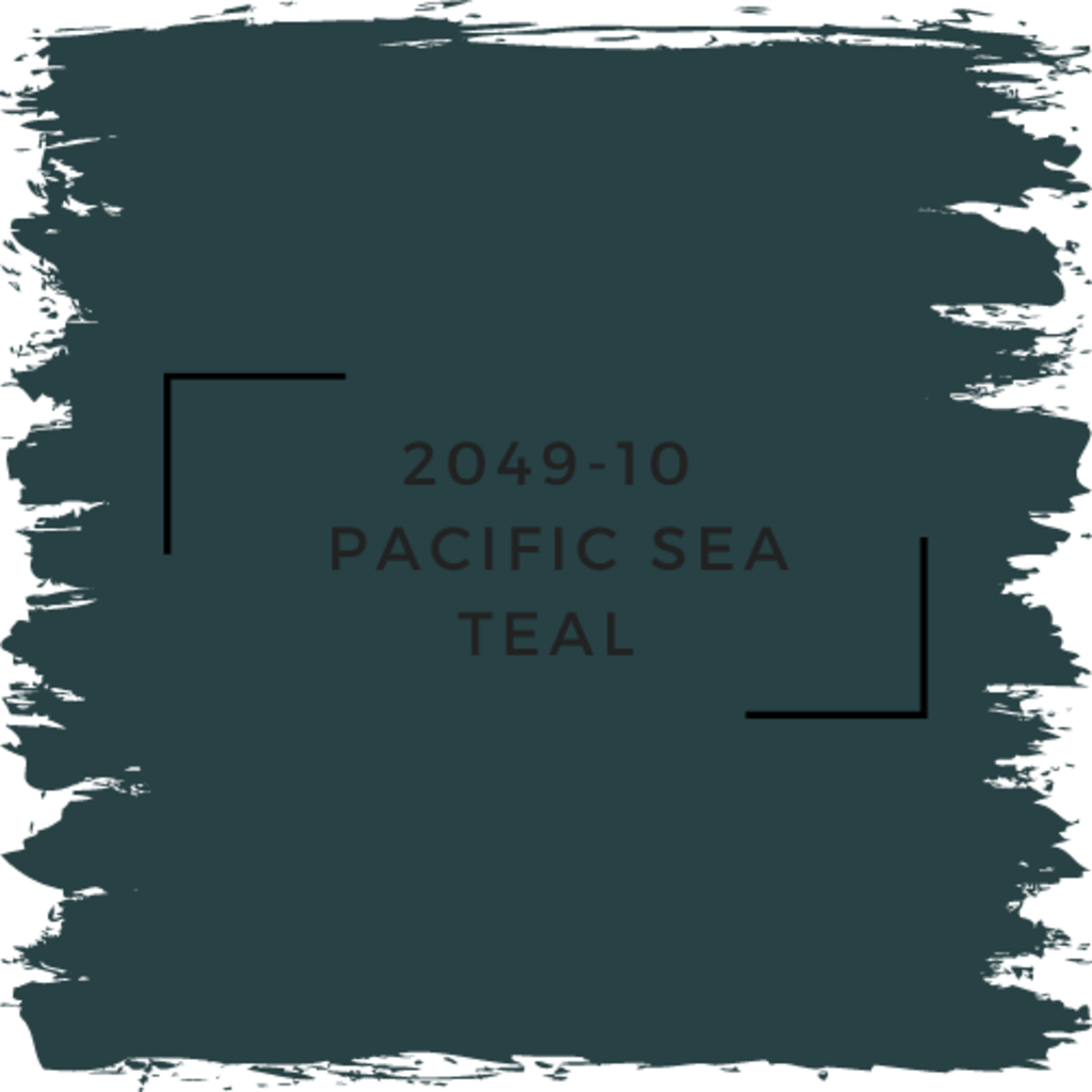 Benjamin Moore 2049-10  Pacific Sea Teal