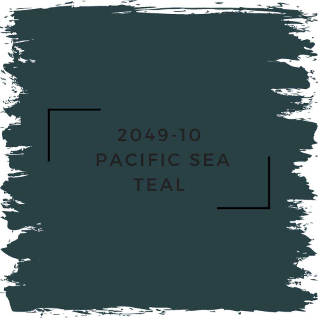 Benjamin Moore 2049-10  Pacific Sea Teal