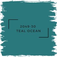 Benjamin Moore 2049-30  Teal Ocean
