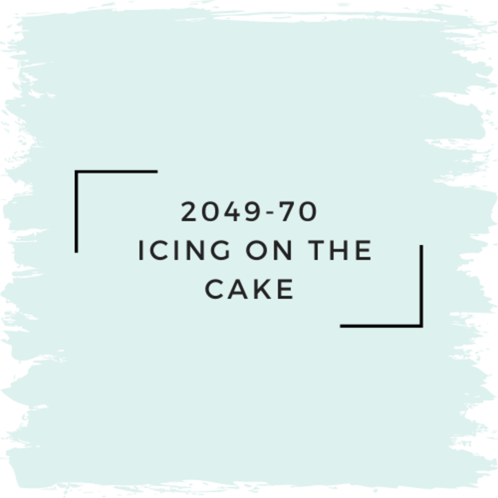 Benjamin Moore 2049-70  Icing On The Cake