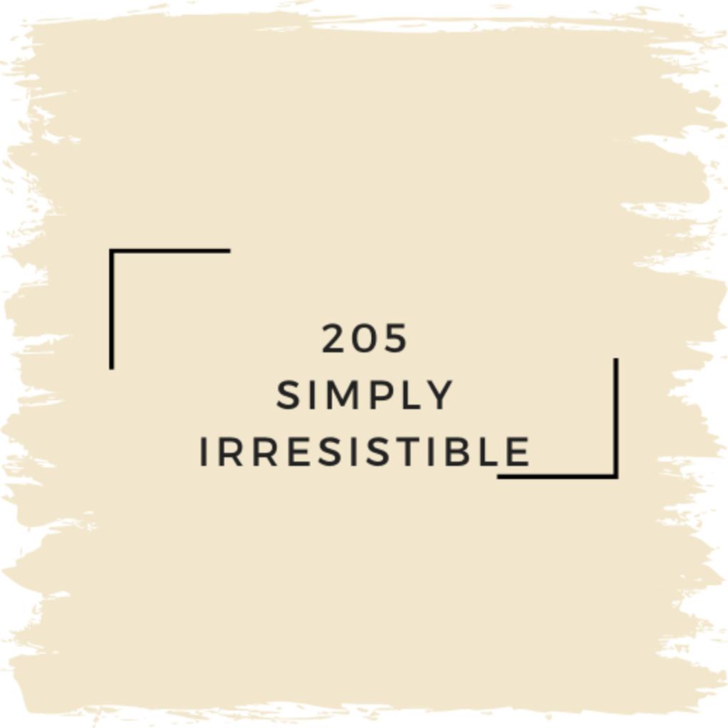 Benjamin Moore 205 Simply Irresistible