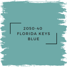 Benjamin Moore 2050-40  Florida Keys Blue