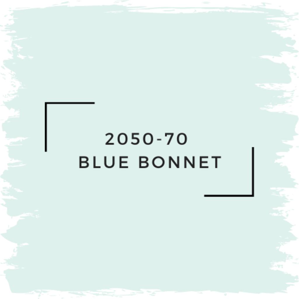 Benjamin Moore 2050-70  Blue Bonnet
